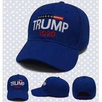 Unisex Donald Trump Cap GOP Republicano Ajustar 2020 EUA Campanha Eleição Boné de Beisebol hip-hop patos LJJJ137