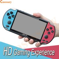 X7 Plus 5. 1 Inch HD Screen Double Rocker Handheld Game Playe...