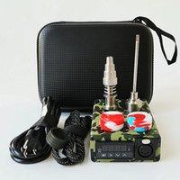 Taşınabilir E Tırnak Setleri Titanyum Kubbesiz 10mm 16mm 20mm Bobin E Çiviler için dabbing Sıcaklık Kontrol Kutusu Box10