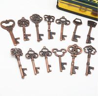 Открывалки Key Формы для бутылок стала Bronze брелок для бутылок Античного ретро открывалка