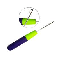 3 teile / los Haken Häkelnadel Für Synthetische Haarverlängerung Werkzeug Und Machen Jumbo Senegalese Twist Micro Braids Perücken