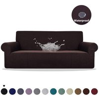 Meijuner Sofa Cover Waterproof Solid Color High Stretch Slip...