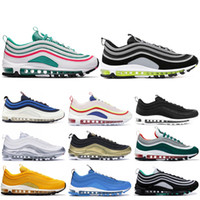 2019 Mens 97 OG Running Shoes Japan OG Yellow Bullet Black C...