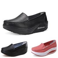 Nuove scarpe da corsa di arrivo per le donne di colore otto bianco nero rosa giallo scarpe blu di sport di modo non marca eur 35-40