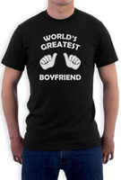 World' s Greatest Boyfriend T- Shirt Gift For Valentine&#...