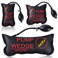 Pompe originale Klom Wedge Airbag Nouveau pour Outils Air Wedge Serrurier Universal verrouillage Pick-Set, Ouvre Serrure pour voiture, 3pcs Fenêtre / lot