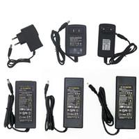 Adaptateur d'alimentation de commutation LED alimentation 110-240 V AC DC 12V 2A 3A 4A 5A 6A 7A 8A 10A 12.5A bande LED éclairage de l'adaptateur transformateur 5050 3528