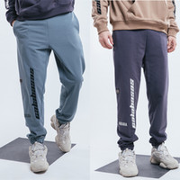 CALABASAS Sweatpants Homens West Season5 Carga Feixe Pants Men Hip Hop Punk Skatebaords Sports Harem Grosso Sweatpant 2019