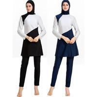 Costumi da bagno donna musulmani costumi da bagno costumi islamici Costumi da bagno islamici Swim Surf Wear Sport Burkinis S-4XL