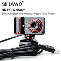Webcam 480P, HDWeb Camera with Built- in HD Microphone 640 x ...