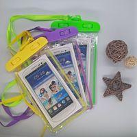 Универсальный ПВХ сухой мешок водонепроницаемый футляр High Clear Камера Использование Soild Дайвинг Плавание телефон чехол для iphone 11 макс смартфон