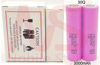 200pc alta qualità Vape 25R 18650 2500mAh batterie al litio di alta capacità di alimentazione ricaricabile E Cig Drain 30Q HG2 IMR VTC4 VTC5 VTC6
