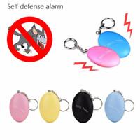 CDT 1 PZ 120DB Outdoor Portable Egg Shape Autodifesa Allarme Allarme Donne Bambino Sicurezza Protezione Protezione Allerta Sicurezza Personale Scream Allarme forte