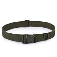 Hommes réglable Boucle de ceinture tactique Sac tactique militaire ceinture de sauvetage outil utile de haute qualité de la série dans les poches multiples
