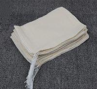15pic 15 * 20 см хлопок марлевые мешки китайская медицина decocting мешки шлака разделения пивоварения виноделия мешки суп фильтр