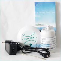 미니 해독 기계 아쿠아 발 스파 이온 전지 스파 기계 해독 발 목욕 1 세트 1 메인 기계, 1 개 이온 배열, 1 전원 어댑터 포함