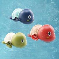 Turtle Kinderbabywanne Spielzeug für Kinder Uhrwerk Finger Spielzeug Aufziehspielzeug Designer Swim-Cartoon-Tier Giraffe Neuheit bestes Geschenk für Baby Kinder