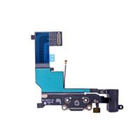 50pcs للآيفون SE 5SE شاحن USB حوض ميناء الشحن التوصيل الكابلات المرنة مع سماعة رأس جاك صفحة