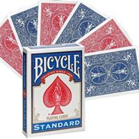 Fahrrad-Doppel Zurück RedBlue Zurück Spielkarten Gaff Deck Magie Karten Spezial Props Close Up Zaubertricks für Magier