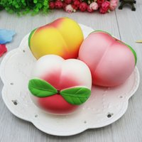 10CM Jumbo kawaii Squishy Slow Rising Peach Pendant Phone St...