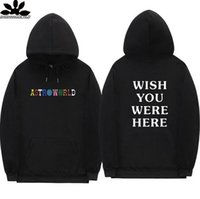 Travis Scott Astroworld hoodies fashion letter print Hoodie ...