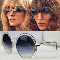 2019 neue heiße runde sonnenbrille frauen markendesigner sonnenbrille beschichtung sonnenbrille retro sonnenbrille mode ce 114s italien marke sonnenbrille