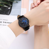 New Men Watch 2019 Fashion Leather Wristwatches For Men&#039...