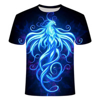 New Summer Style Mens T- Shirt Colorful Galaxy Space Psychede...