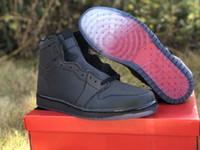 New Custom 1 Designer Shoes Alta Zoom Fearless pallacanestro multi colore nero fortunato Verde Varsity Red Moda Scarpe Sneakers migliore qualità