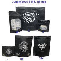 Orman Boys Ambalaj 3.5G 7G OZ 1 Pound Jungleboys Koku Geçirmez Çanta Ile Çocuk Dirana Dayanıklı Kuru Herb Çiçek