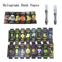 New Hologram Dank Vapes Cartridge Packaging G5 M6T 1ml Ceram...