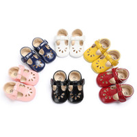 6 Color Baby Shoes For Girls Toddler Infants Baby Girls Leat...