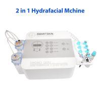 Yeni gelenler portatif hidra dermabrazyon soyma yüz hydrafacial oksijen püskürtme tabancası spa salonu kullanımı yüz bakımı makine