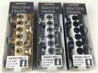 Teste di nuovo stile GOTOH SG381-07-MGT chitarra elettrica Locking Tuners macchina (Chrome Nero Oro Argento) spine di sintonia delle parti della chitarra