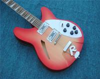 Ücretsiz Kargo Elektro Gitar, 6 Dizeler / 12 Dizeler Elektro Gitar, Klasik Renk Elektrikli Gitar Guitarra'da Pikap Kamyonları Yükseltme