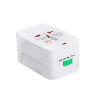 США в ЕС Европа Универсальный AC Power Plug Worldwide Travel адаптер конвертер 100-240