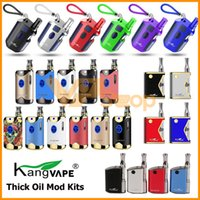 Authentic Kangvape TH710 TH710 TH420 V1 TH420 II V2 Mini 420 K Box Mod Kit com 0,5 ml de cerâmica bobina cartucho 100% Original