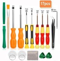 Triwing отвертка Набор для Nintendo, 17in1 Professional Полная безопасность Отвертка игры Repair Tool Kit для Nintendo Switch / Nintendo Переключатель L