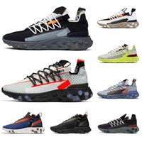 React Element 87 55 ISPA MID men women running shoes ghost a...