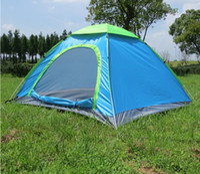 Tenda da campeggio per 1 persona Tenda da spiaggia Tenda multi-color portatile in poliestere per il campeggio escursionismo Outdoor climbing treking mountaining