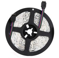 Illuminazione illuminazione luci a strisce LED RGB 16.4FT / 5M SMD 5050 DC12V flessibile LES Strips luci 50LED / Meter 16Different Colors