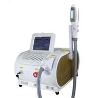 جودة عالية!!! OPT SHR IPL معدات صالون الليزر العناية بالبشرة RF آلة إزالة الشعر الجمال Elight Skin Rejuvenation CE