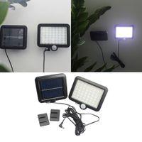 56LED 태양은 방수 모션 센서 벽 램프 야외 가든 스포트라이트 공원 비상 거리 스포트 라이트 보안 램프 투광 조명