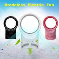 Большой Размер Спальный Электрический Bladeless Silent Мини-Вентилятор Творческий Офисный Стол Прохладный Природные Вентиляторы Ветра Кондиционер Охладитель Охлаждения Baby Fan