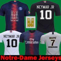 e28289cd21607c Camisetas de fútbol tailandesas 2019 PSG Notre-Dame Mbappe CAVANI Draxler  BUFFON Maillots Paris Mujeres
