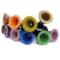 유리 물 기억 만 이동식 슬라이드에 벌집 패턴 컬러 볼 조각 봉 그릇 마티니 모양 도미 볼