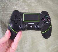 Ambalaj Kutu Logo ile PS4 Joystick Game Controller için yeni ŞOK 4 Kablolu Kumanda TOP kalite Gamepad
