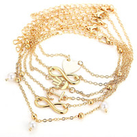 Anklets Jewelry Fashion Women Bohemia Quality Gold Silver Pl...
