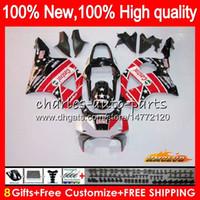 Lichaam voor Honda Red Factory CBR 954 900 RR CC 900CC 2002 2003 77NO.91 CBR900RR CBR954RR CBR900 CBR954 RR CBR 900RR 954RR 02 03 OEM-VALERINGEN