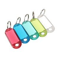60PCS ملون متجمد البلاستيك الأمتعة رقم حقيبة تسمية مفتاح الكلمات المفاتيح حقيبة تسمية مفتاح الكلمات المفاتيح لون عشوائي